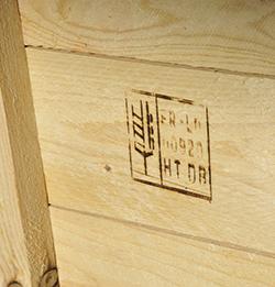 Marquage NIMP15 pour l'export